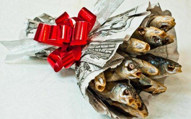 Букет з риби, фото з відкритих джерел