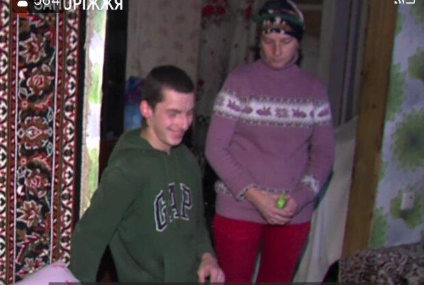 Багатодітна мати, фото: скріншот з відео