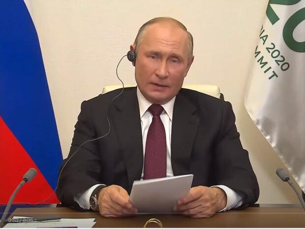 Володимир Путін, фото YouTube