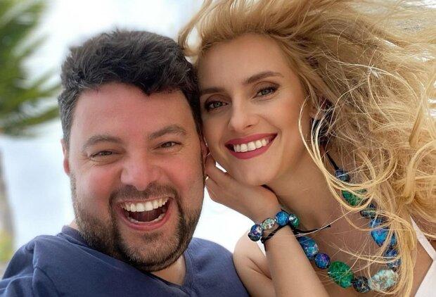 Ирина Федишин с мужем Виталием, фото с Instagram