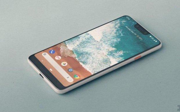 Google Pixel 3 XL: живые фото показали, откуда слизан дизайн