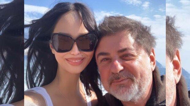 Александр Цекало и молодая супруга, фото: Instagram