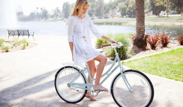 Киянки пересіли на велосипеди