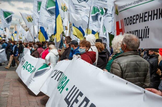 митинг аграриев в Киеве 28.05.20