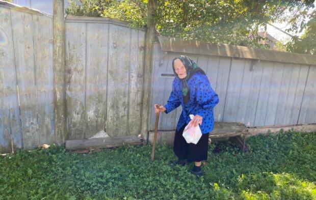 Баба Віся, фото Репортер