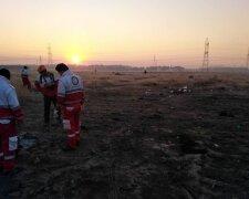 Авиакатастрофа в Иране, фото: Украина Сейчас