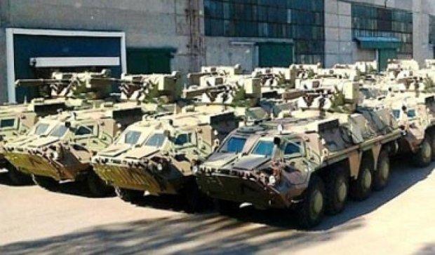 Армія прийме на озброєння 18 зразків зброї та військової техніки