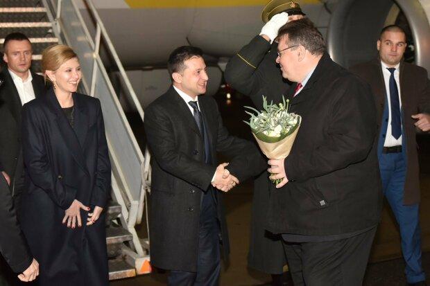 """Зеленский прибыл в Литву с официальным визитом: что обсудит слуга народа на родине """"евроблях"""""""