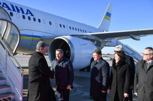 Президент Украины Петр Порошенко в Польше