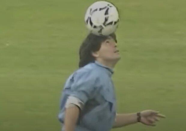 Дієго Марадона, скріншот відео