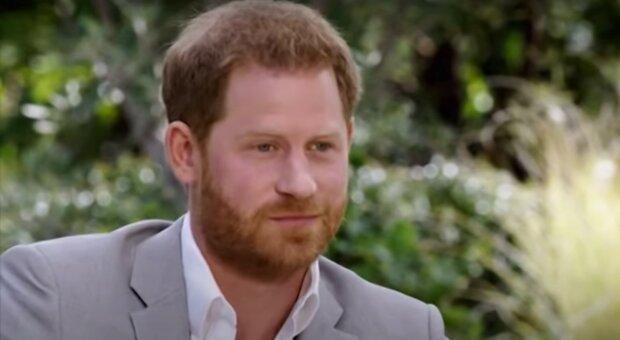 принц Гаррі, скріншот з відео