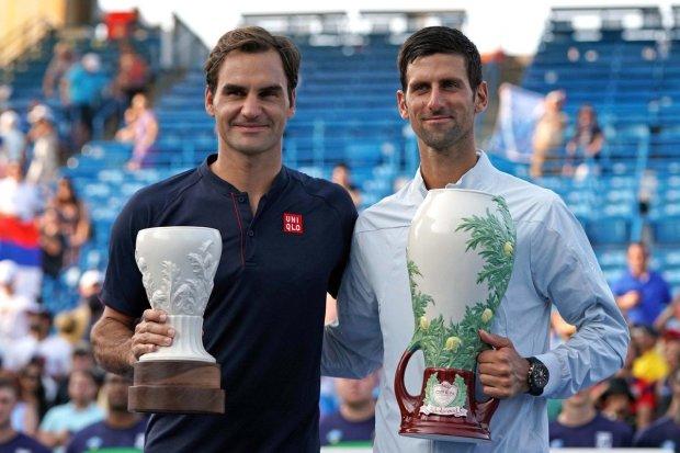 Джокович - Федерер: опубліковано прогнози букмекерів на фінал Вімблдону 2019