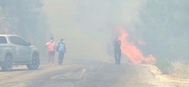 Пожар, фото: скриншот из видео