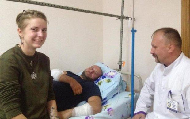 У мережі показали фото ран Яроша