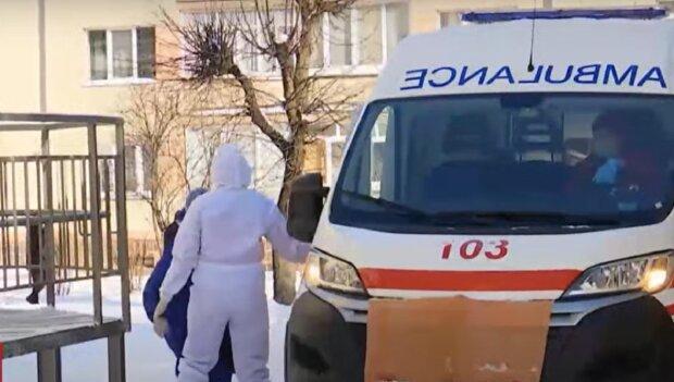 Скорая помощь во Франковске, изображение иллюстративное, кадр из видео: YouTube
