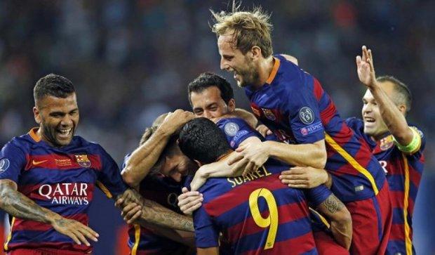 Суперкубок УЄФА: трофей «Барселони» і перший гол Коноплянки (відео)