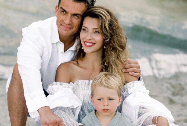 Регина Тодоренко и Влад Топалов с сыном, instagram.com/reginatodorenko