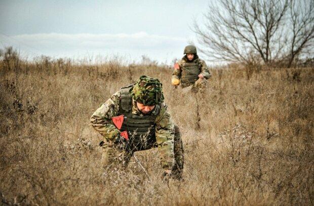 Украинские военные, фото: пресс-служба ООС