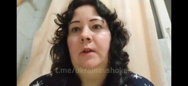 Украинские медики, фото: скриншот из видео