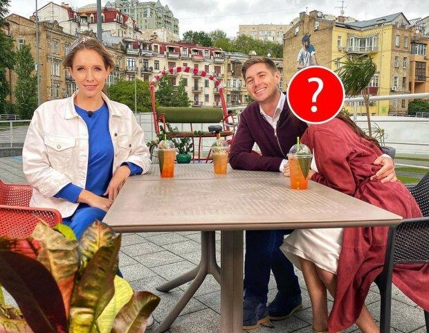 Владимир Остапчук с новой девушкой и Катя Осадчая, фото: Instagram/svitsketv