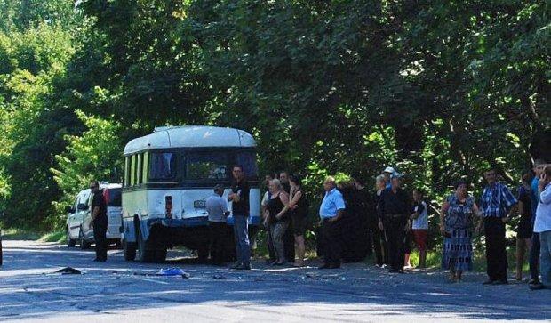 ДТП на Закарпатье: BMW столкнулся с похоронами