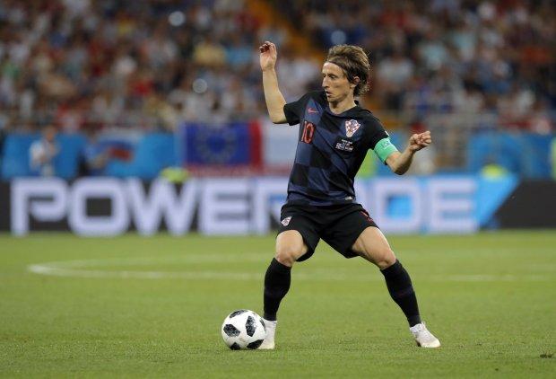 Модрич став кращим гравцем світу