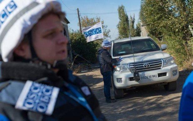 Полсотни пенсионерок Донбасса атаковали ОБСЕ