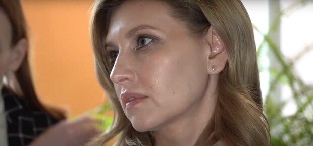 Елена Зеленская, скриншот: Youtube