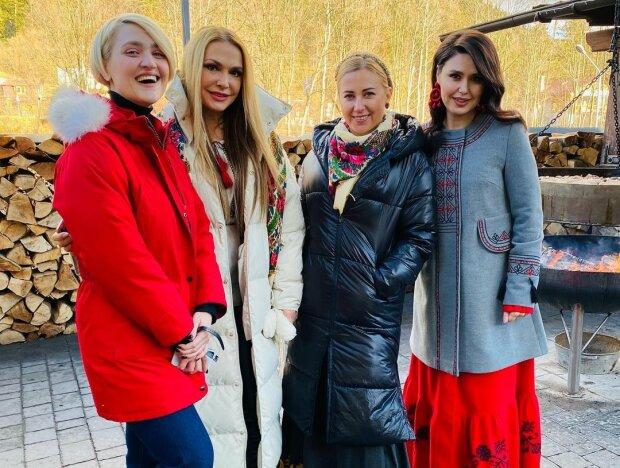 Тоня Матвиенко, Вера Кекелия, Людмила Барбир и Ольга Сумская, фото: Instagram