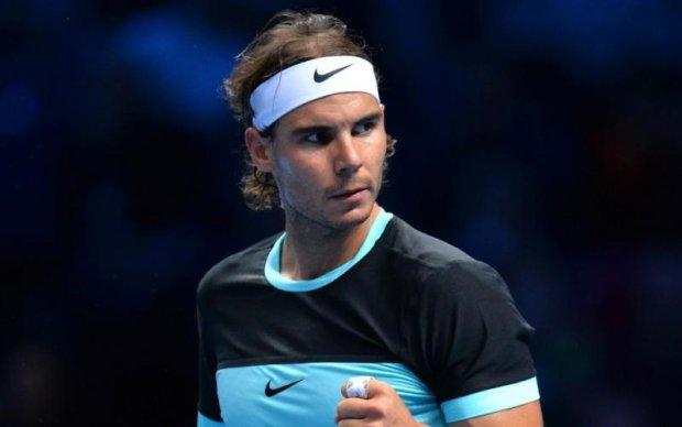 Зірковий тенісист перевірив головою на міцність одвірок