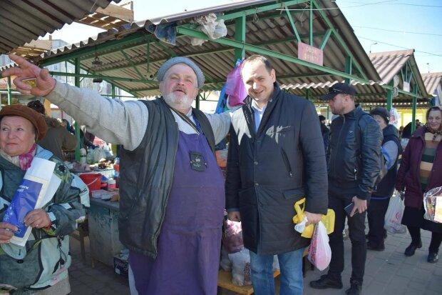 Рынок, фото с фейсбук
