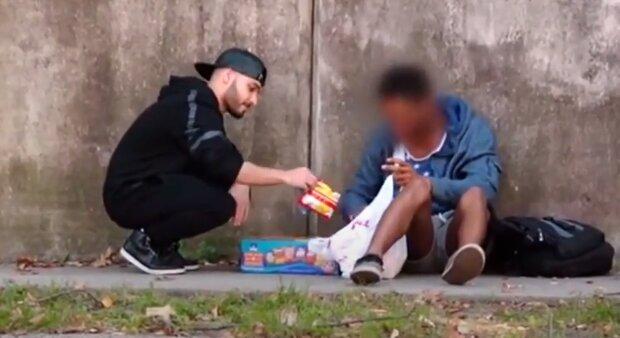 Бездомный, скриншот: Youtube
