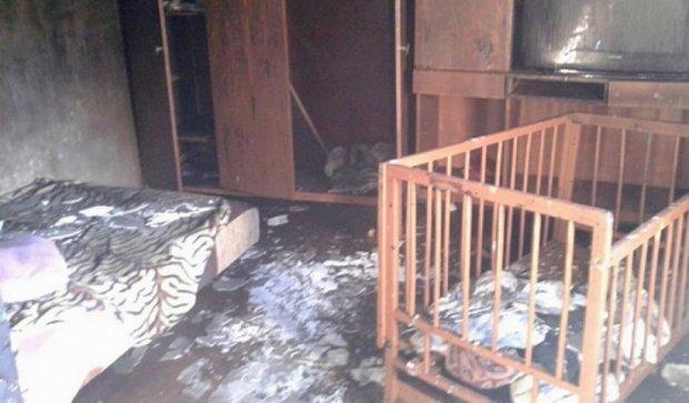 В доме в Одесской области сгорели трое детей (фото)
