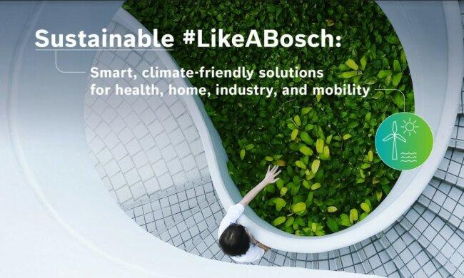 CES 2021: Bosch робить ставку на ШІ та підключення до Інтернету - для захисту людей та довкілля