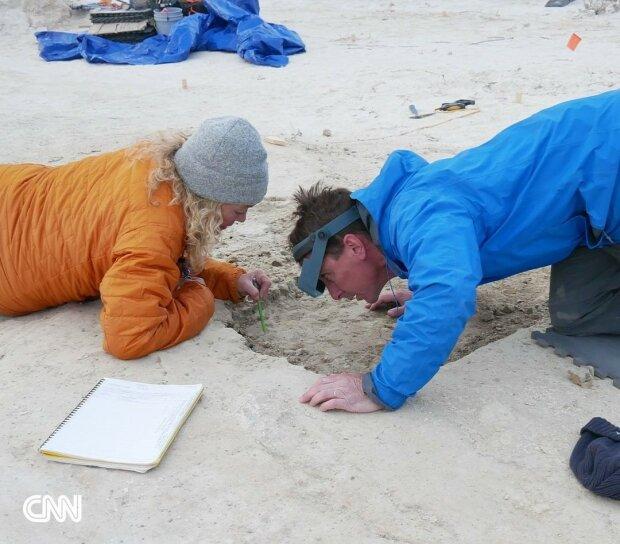 Первые люди на территории Северной Америки, фото  Mattew Bennett/Bournemouth University