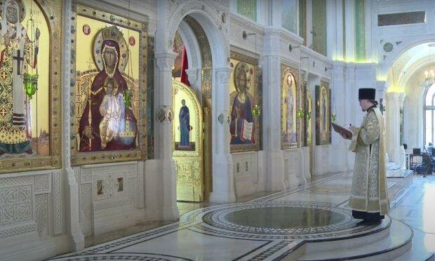 литургия, скриншот из видео