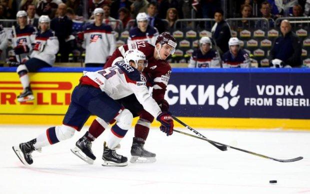 Латвія - США 3:5 Відео найкращих моментів матчу чемпіонату світу з хокею