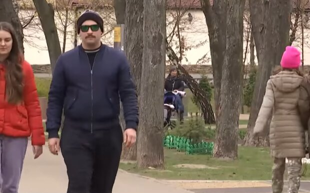Карантин в Украине, скриншот из видео