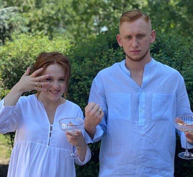Олександр Рудинський і Марія Заниборщ, фото Новий канал