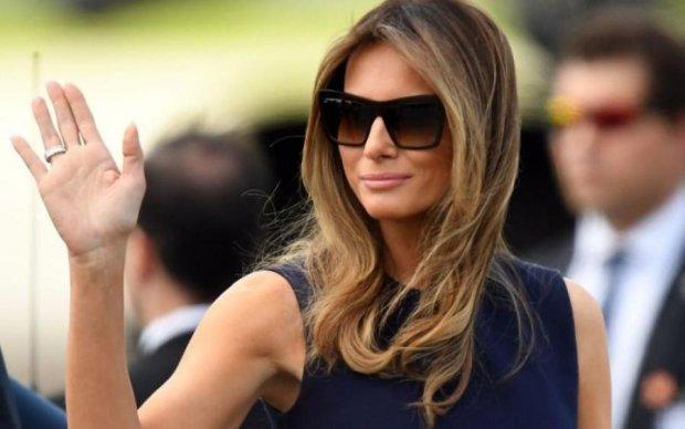 Напис на куртці Меланії Трамп поставив світ на вуха
