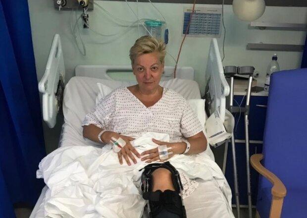 На лікарняному ліжку з укладкою: Гонтарєва записала відео з Лондона, це потрібно бачити