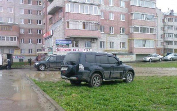Быдло устроило парад хамства в киевском дворе
