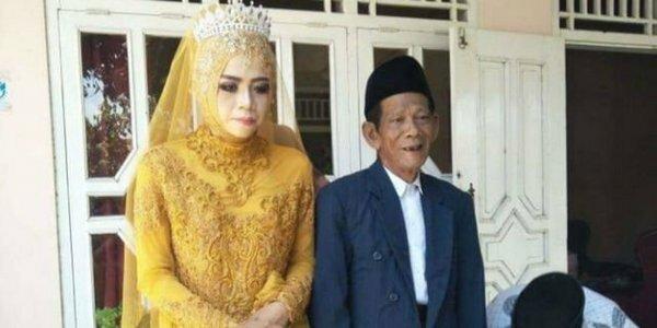Приворотное зелье в действии: юная девушка вышла замуж за 83-летнего дедушку-шамана, внуки в шоке
