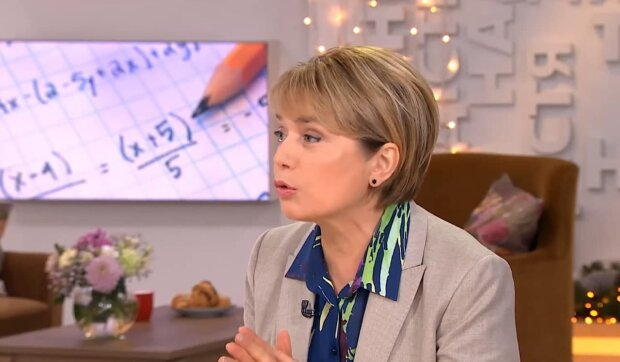 Лилия Гриневич, скриншот с видео