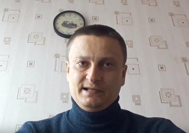 Виктор Гатилов, скриншот из видео