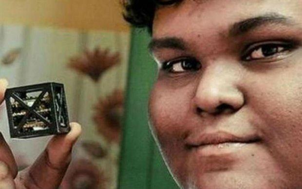 Индийский юноша создал единственный в своем роде спутник