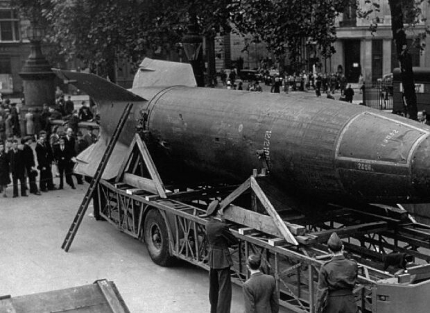 "Ракета ""Фау-2"", фото: GettyImages"