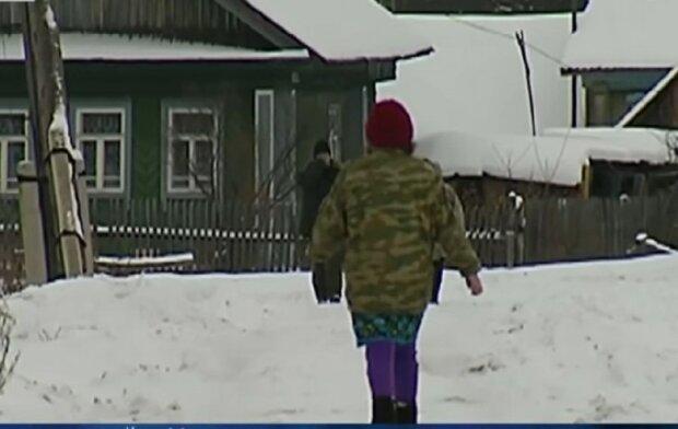 скріншот з відео, пес рятівник