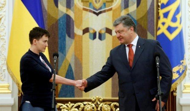 Хто вже пропіарився на поверненні Савченко