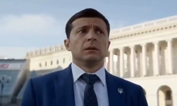"""""""Слуга народа"""", кадр из фильма"""